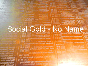 Social Gold - No Name / 2016 November Linz BV-Galerie