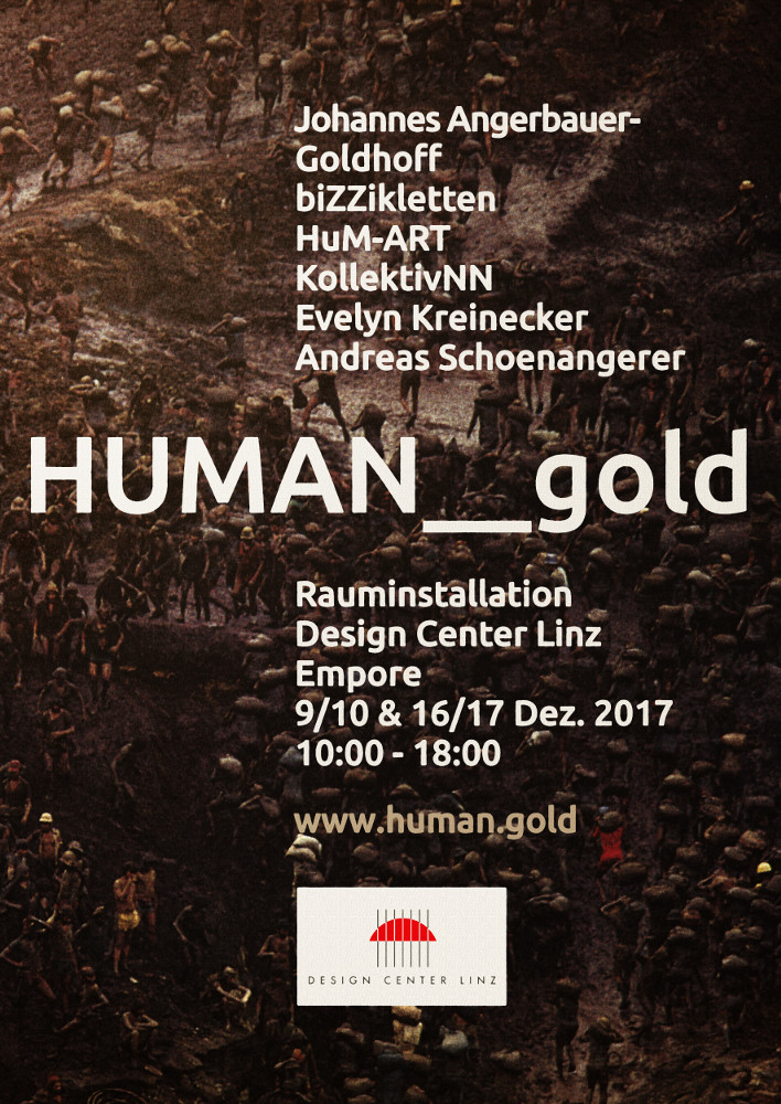 HUMAN gold - Design Center Linz - December 2017