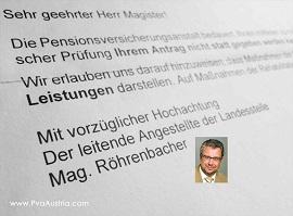 PVA O� - Mag. Dir. R�hrenbacher